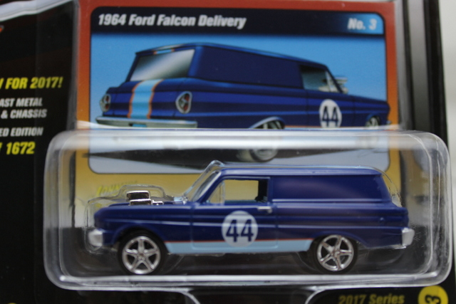 Ford Falcon Delivery 1964 Blauw/wit