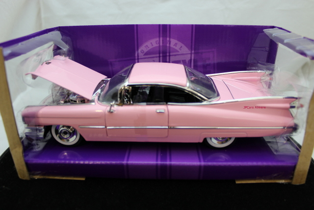 Cadillac Coupe Deville 1959 Rose