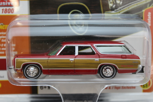 Chevy Caprice Estate 1973  Rood