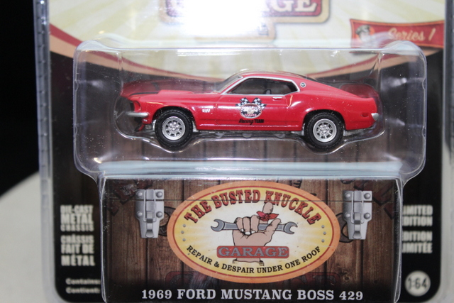 Ford Mustang Boss 429 1969 Rood