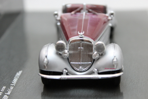 Horch 855 Special-Roadster 1938  Silver/rood