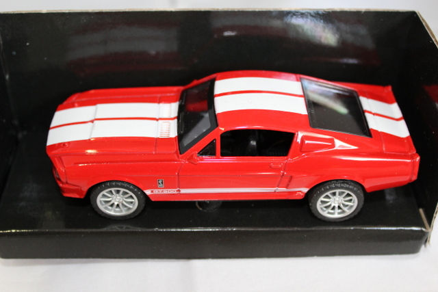 Shelby mustang GT500 1967 Rood/wit