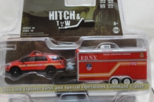 Ford Explorer FDNY 2016 met Trailer