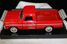 Ford F-100 Pickup 1969  Rood