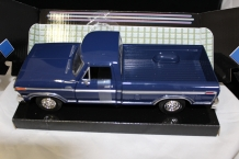 Ford F-150 Custom 1979  Donkerblauw