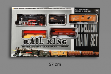 Treinst 196 cm Rail King B.O. W/B