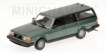 Volvo 240 GL Break 1986 Groen Metallic