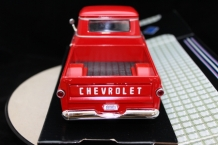 Chevy Apache Fleetside Pickup 1958 Rood
