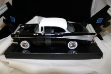 Chevy Bel Air 1957 Zwart/wit