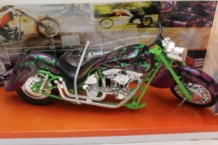 Chopper Custom  Groen/paars