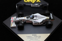 Tyrrell-Ford 025 # 19 X300