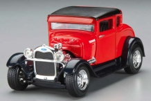 Ford Model A 1929  Rood/Zwart