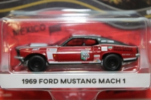 Ford Mustang Mach 1 1969  Rood