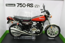 Kawasaki 750-RS Z2  Fire red bal