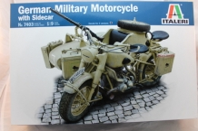 German Military Motorcycle