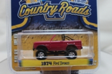 Ford Bronco 1974  rood