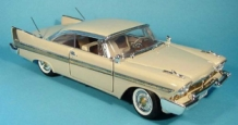 Plymouth Fury Coupe 1958    Creme