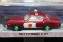 Plymouth Fury 1978    Rood