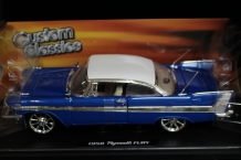 Plymouth Fury Coupe 1958    Blauw