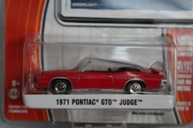 Pontiac GTO Judge 1971   Rood