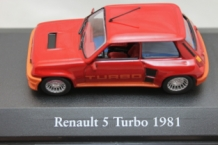 Renault 5 Turbo 1981 Rood