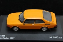 Saab 99 Turbo Combi Coupe 1977  oranje