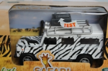 Land Rover 4x4  Safari  Wit/zwart