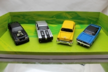 Div. Set Design 4 Pack Muscle Cars