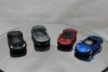 Div Set Disign 4 Pack Exotics Cars