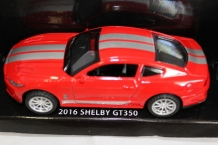 Shelby Mustang GT350 2016  Rood/zilver