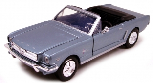 Ford Mustang 1964 1/2 Convertible  Metailic blauw